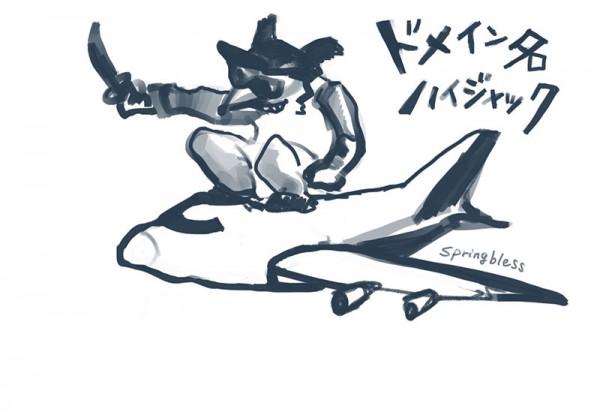 ドメイン飛行機800