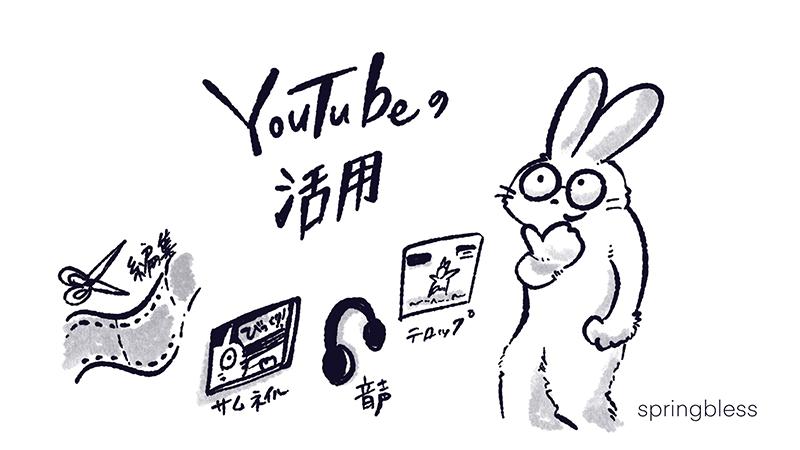 youtubeの活用